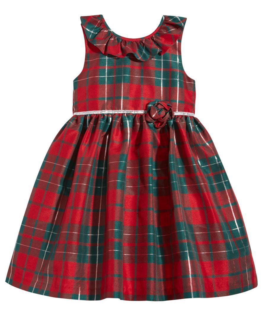 Laura Ashley Plaid Party Dress Toddler Girls 2t 5t Kids Dress Kids Designer Dresses Girl Outfits [ 1080 x 884 Pixel ]