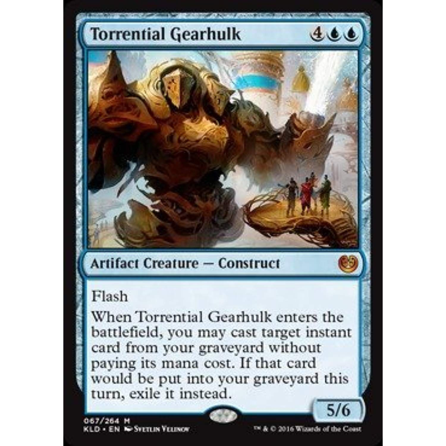 Magic: the Gathering - Torrential Gearhulk (067/264