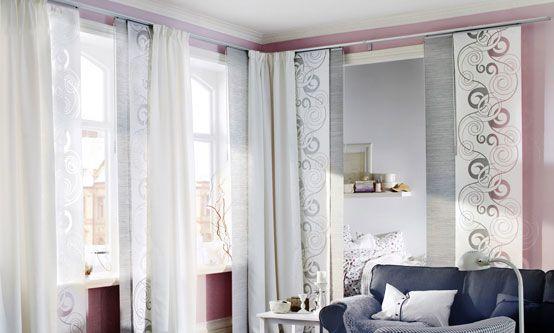 7 solutions d co pour s parer l espace id e pour accueil. Black Bedroom Furniture Sets. Home Design Ideas