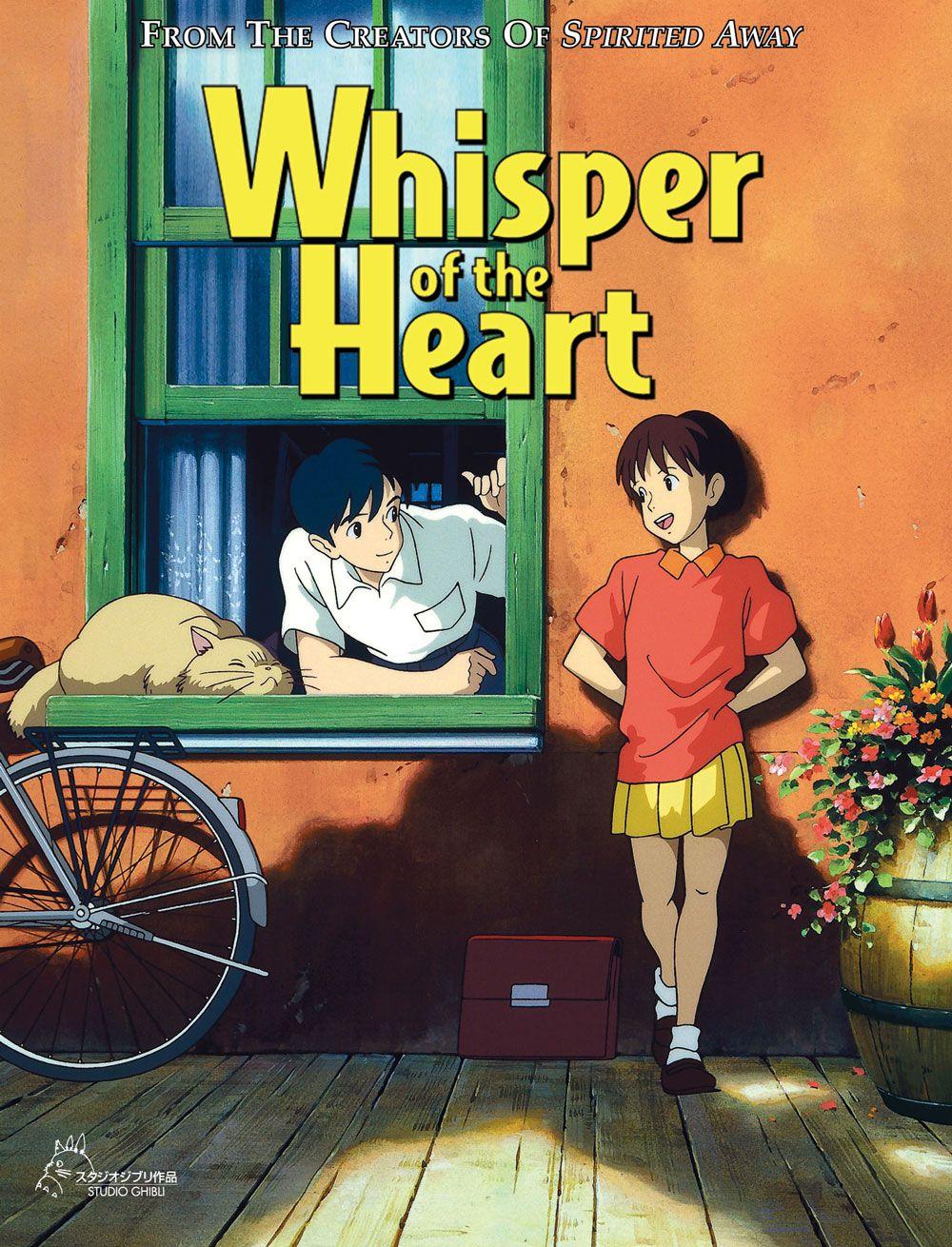 Whispers of the Heart Anime Movie Studio ghibli movies
