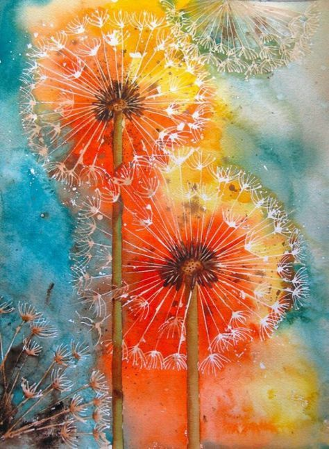 Fabulous Mixed Media...zelf maken, zo leuk! | schilderijen - Kunstmalerei @RJ56