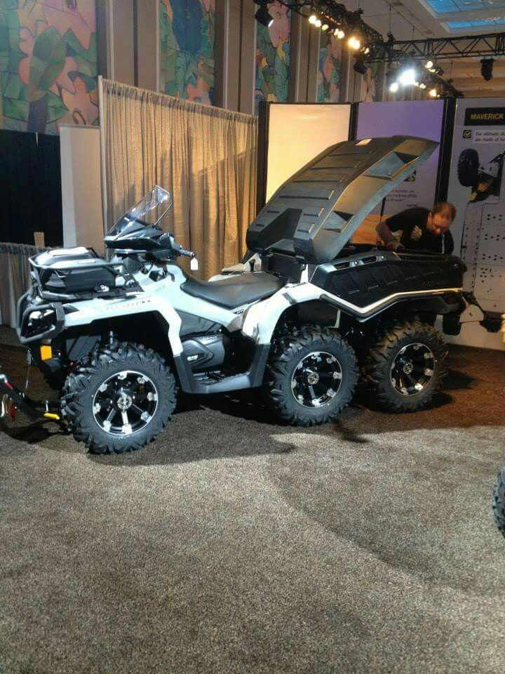 Can Am Outlander 1000 Xtp 6x6 Can Am Atv Offroad Atv Quads