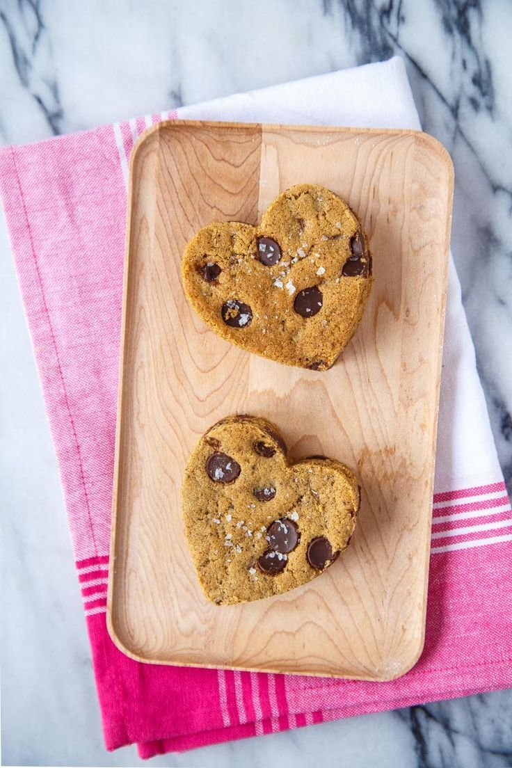 Heart Shaped Cookies Recipe Dessert for Two Marry Me