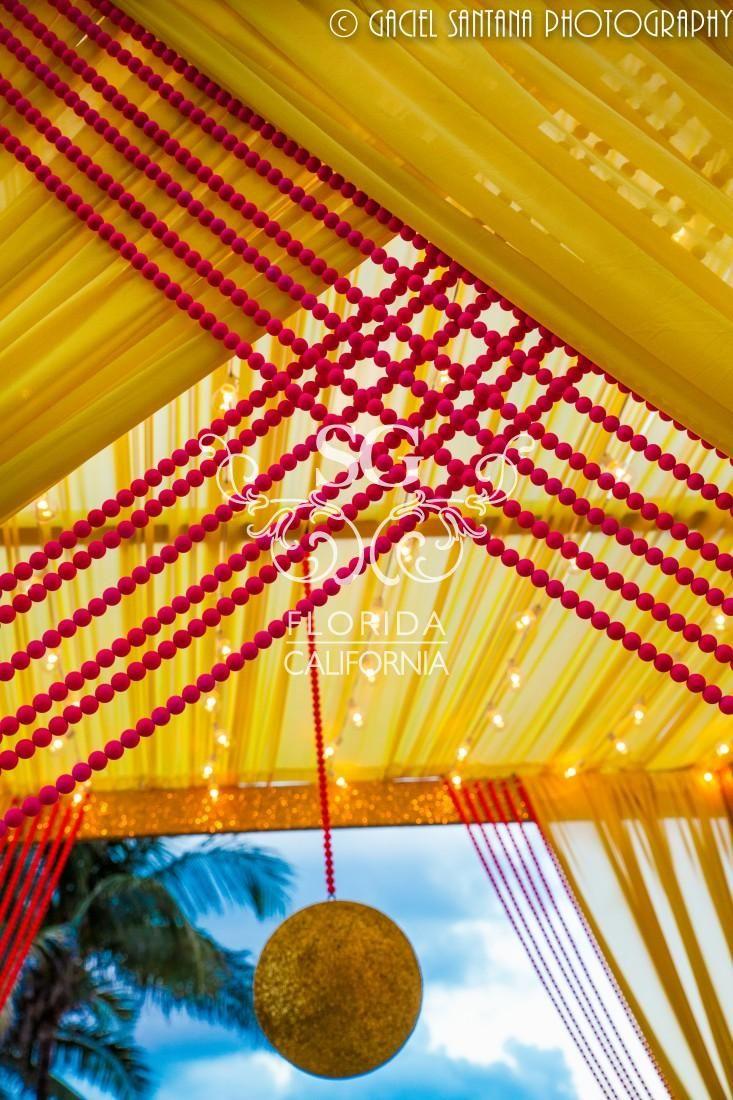 Suhaag Garden, Florida Indian Wedding Decorator, San Fransisco Indian Wedding Decorator, California Indian Wedding Decorator, Colorful Sangeet Decor, Colorful Mehndi Decor, Modern Sangeet Decor, Destination Indian Wedding, Eden Roc Indian Destination Wedding, Outdoor Sangeet Decor, Beachside Sangeet Decor