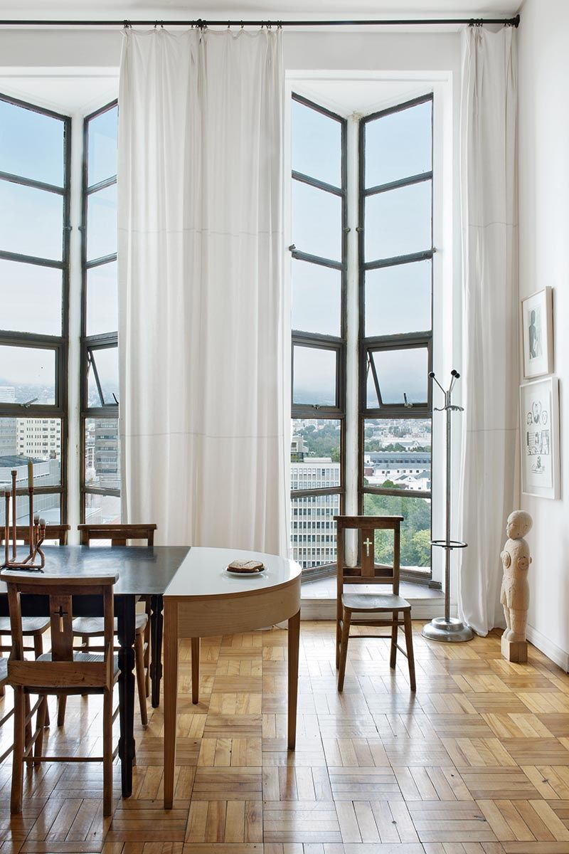 Dining room via Architectural Digest