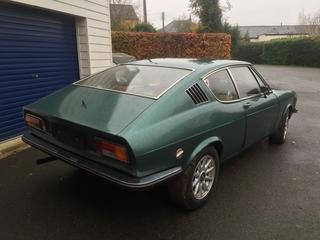 Here she is... My 1976 Audi 100 Coupe S restoration project. Gulp... | Audi 100, Audi, Coupe