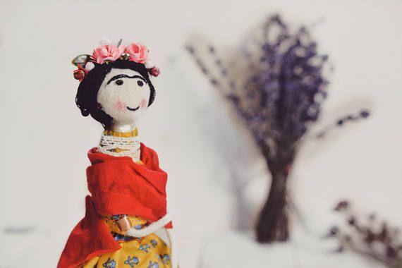 Amigurumi Frida Kahlo : Los amigurumi frida kahlo