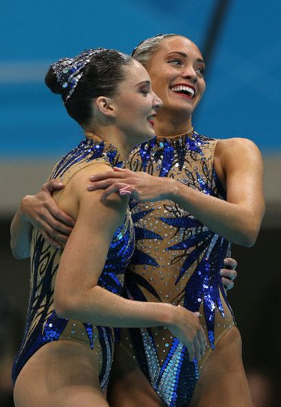 Jenna Randall In Olympics Day 11 Synchronised Swimming Synchro