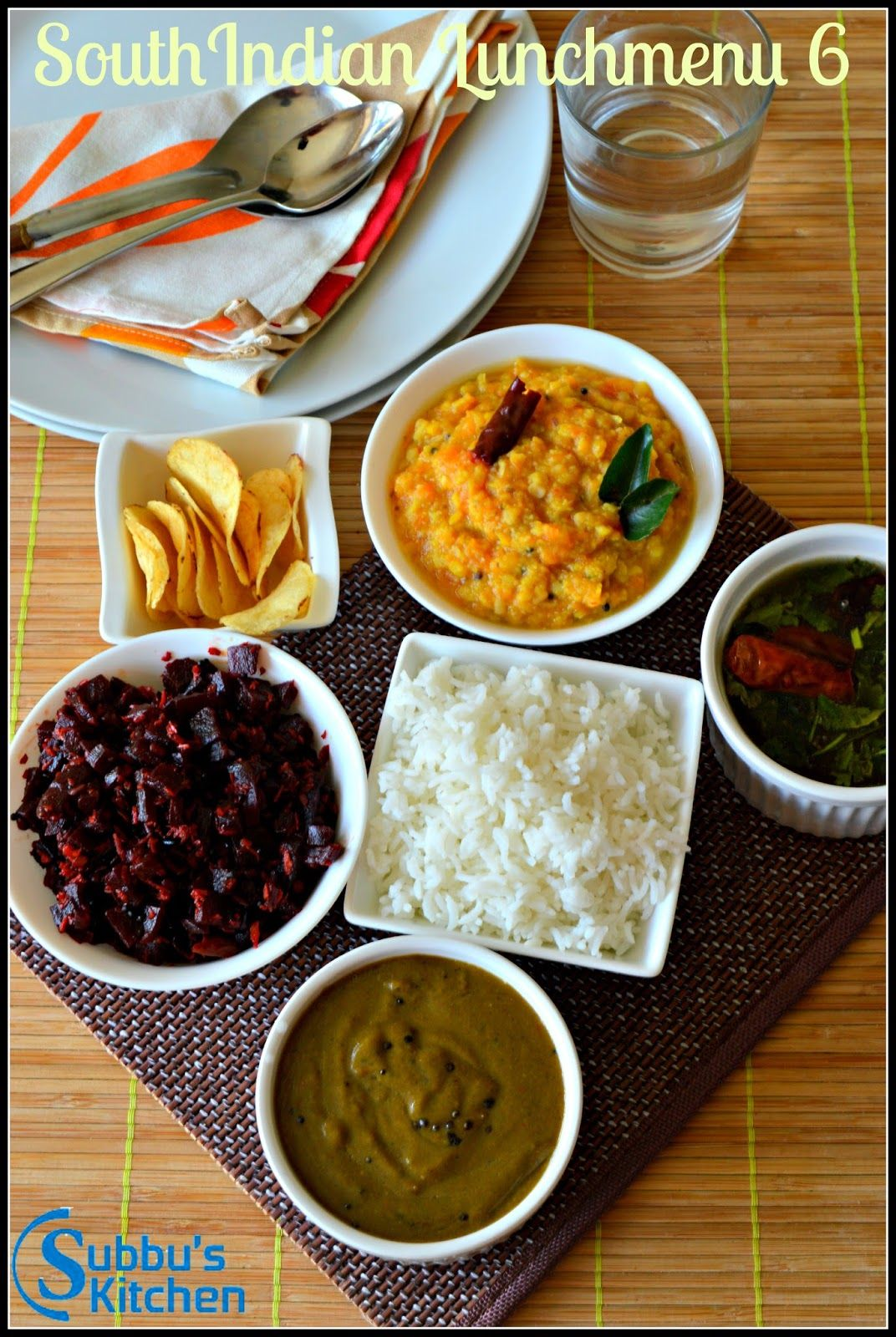 Subbus Kitchen South Indian Lunch Menu 6 Curryleaves Kuzhambu Kottu Rasam Beetroot Poriyal Pum Indian Food Recipes Indian Food Recipes Vegetarian Cooking