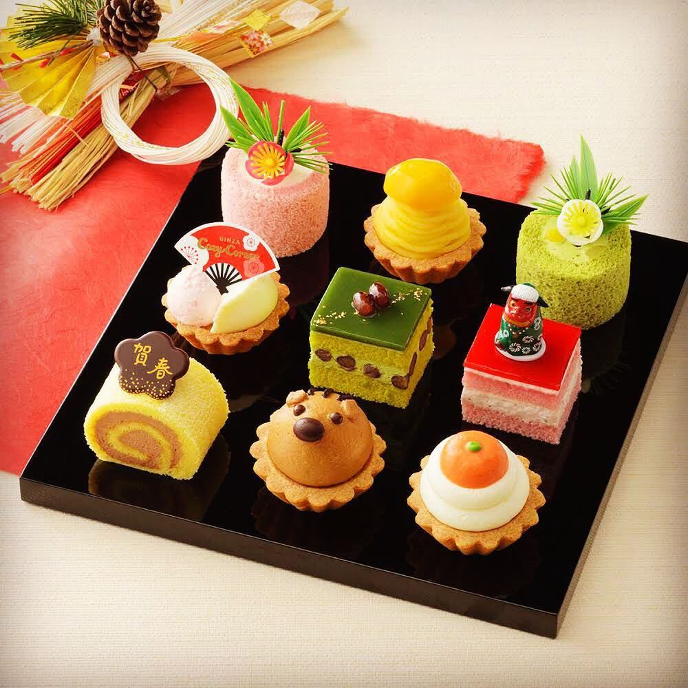 These mini cakes from Tokyo's Ginza Cozy Corner are