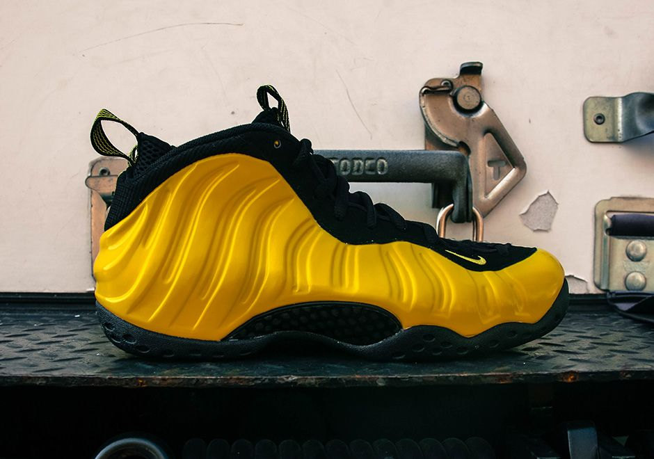 7d7d35df36d Optic Yellow Shines On This Nike Air Foamposite One • KicksOnFire.com