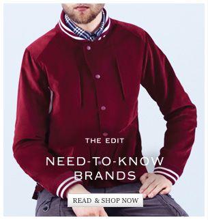 Menswear Brands That Inspire Designer Clothes For Men Men S Fashion Brands Menswear