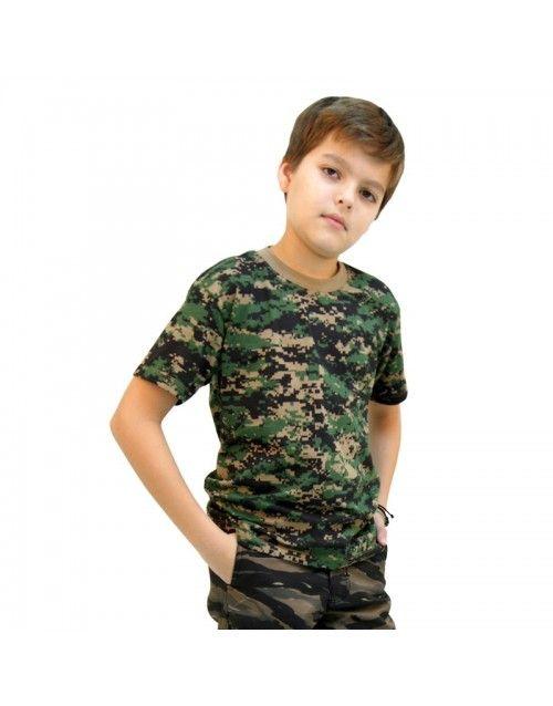 af739378d7f3a Na Use Militar você compra Camiseta Infantil Camuflada Digital Serra de  ótima qualidade. Confira nossas