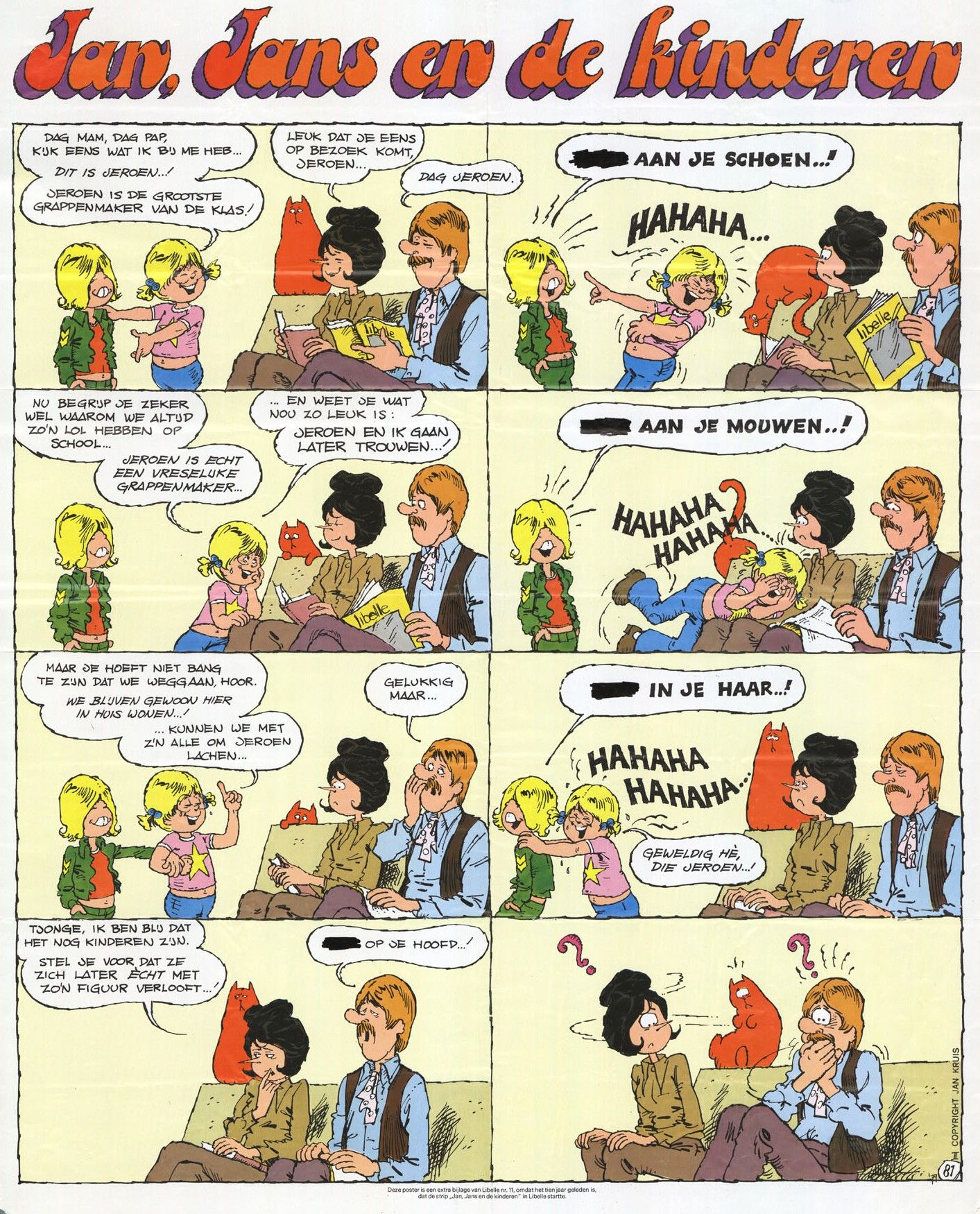 Jan Jans En De Kinderen Kinderen Kindertijd Stripverhalen