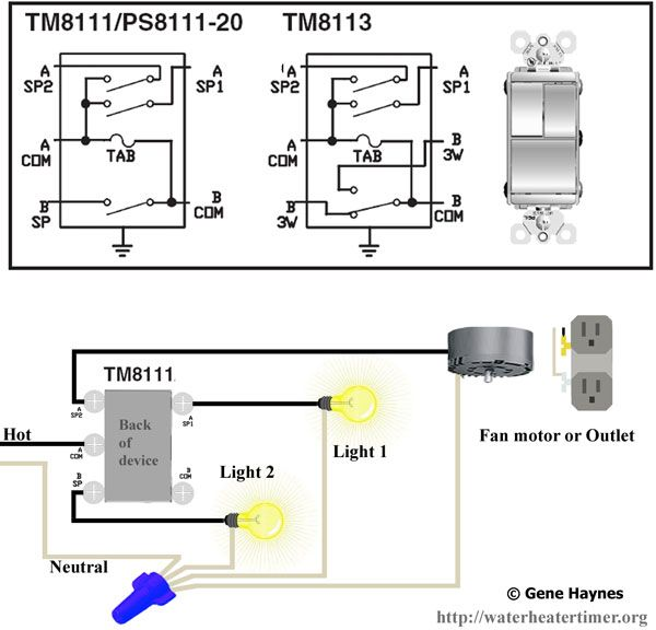 How To Wire Tm8111 Switch
