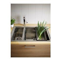 bredsk r einbausp le 1 1 2 becken ikea einrichten und wohnen pinterest waschbecken. Black Bedroom Furniture Sets. Home Design Ideas