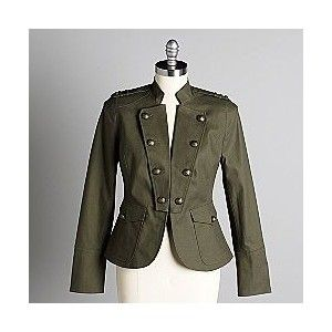 Women's Military Jacket | Classy Coats & Cardigans | Pinterest ...