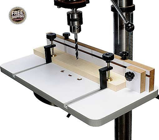 Mlcs Drill Press Table Tool Stuff Woodworking Drill