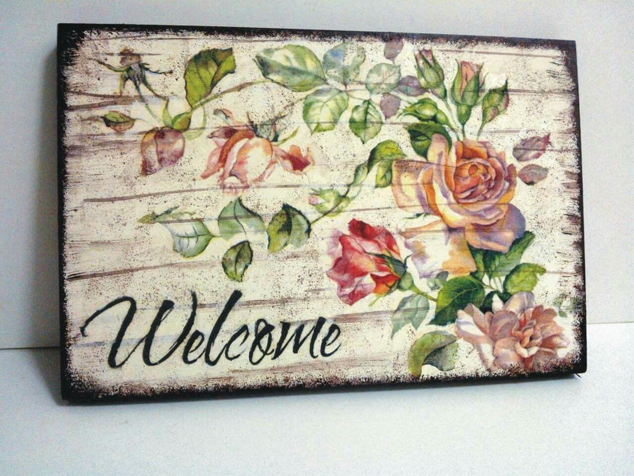 429f2da5f Decoupage On Canvas, Decoupage Wood, Decoupage Ideas, Diy Home Crafts,  Decor Crafts