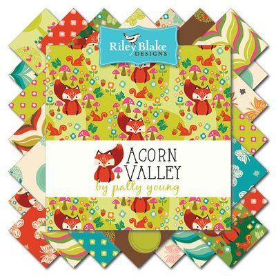 Riley Blake Designs: Category: Acorn Valley Flannels coming January 2016