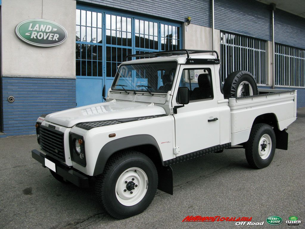 Special Land Rover Defender 110 Td5 High Capacity Pick Up In