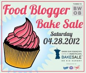 St. Louis food bloggers are holding a bake sale April 28. Proceeds go to Share Our Strength.