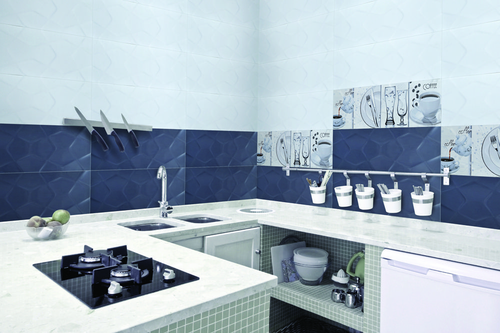 Kitchen Wall Tiles Manufacturer India (With images