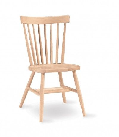 285d Copenhagen Desk Chair Solid Wood Dining Chairs Unfinished