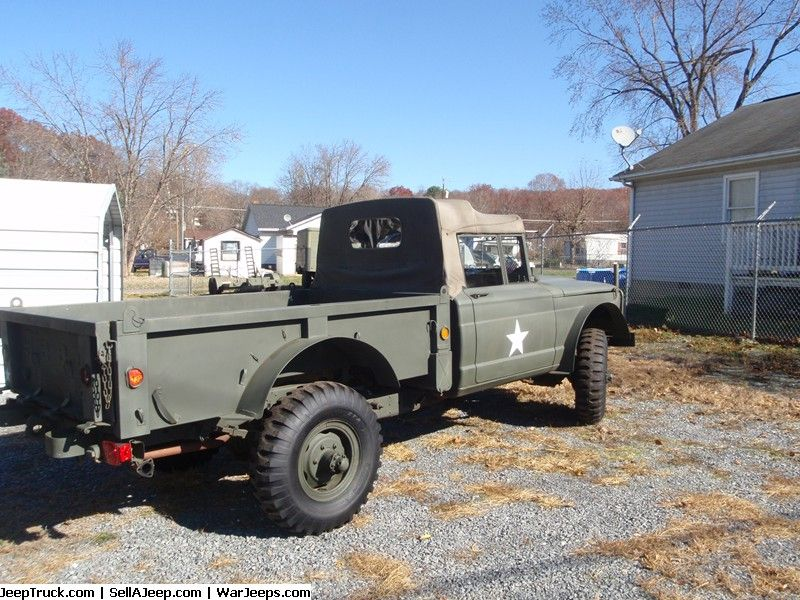 Military Jeeps For Sale and Military Jeep Parts For Sale - 1968 Jeep