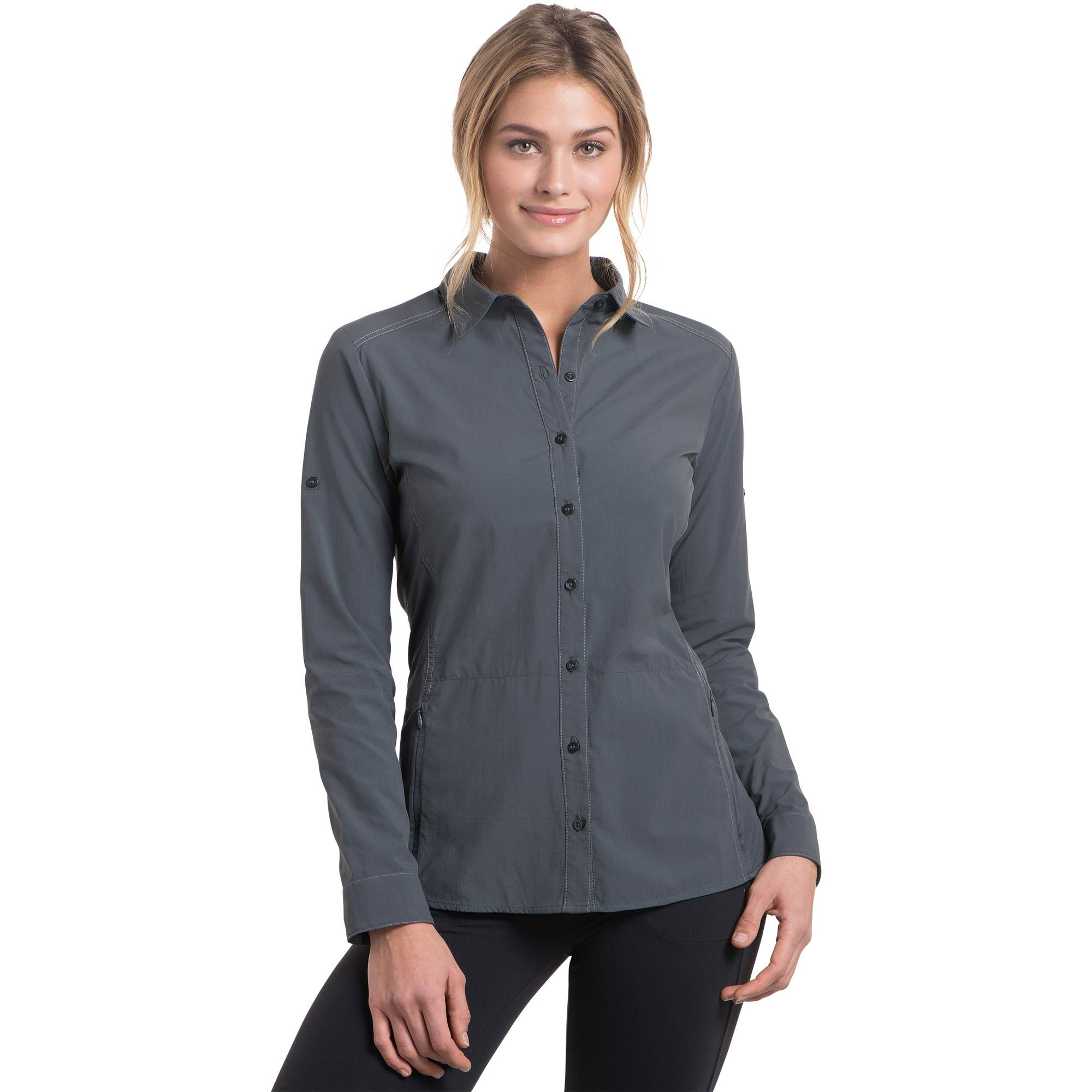 The Kuhl Invoke Shirt Is Made Of A Lightweight Quick Dry Moisture