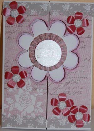Gatefold flower aperture card by: kINGFISHER