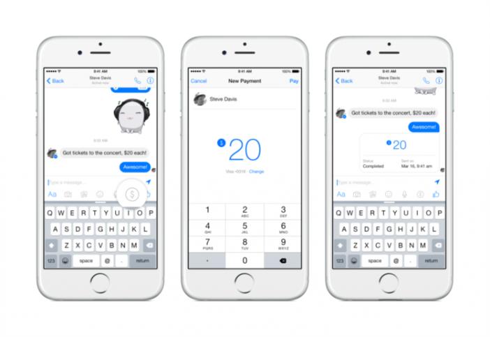 Facebook vai permitir transferências de dinheiro através do Messenger http://angorussia.com/tech/facebook-vai-permitir-transferencias-de-dinheiro-atraves-do-messenger/