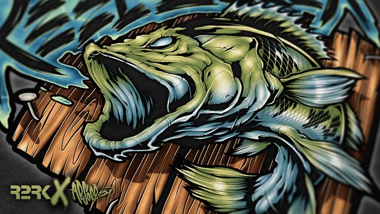 Channa Pulchra Snakehead Fish Fish Oscar Fish