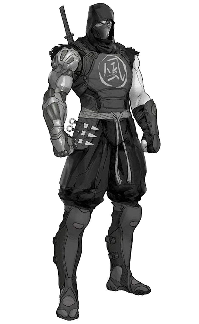 Ninja Concept Yaiba Ninja Gaiden Z Observa La Posición Low