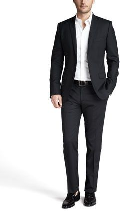 b30620e05857 Dolce & Gabbana Martini Stretch-Wool Suit, Black on shopstyle.com ...