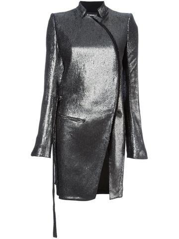 Metallic Linen Coat | 1602-1102-P-179-070