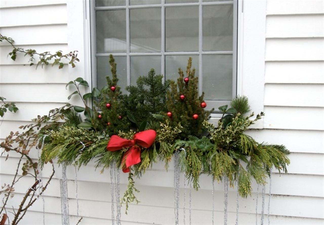 Window Box Christmas Decorating Ideas 100 Best Christmas Season Of