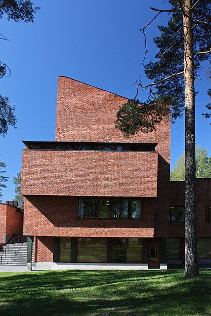 Säynätsalo Town Hall - Alvar Aalto | Flickr - Photo Sharing!