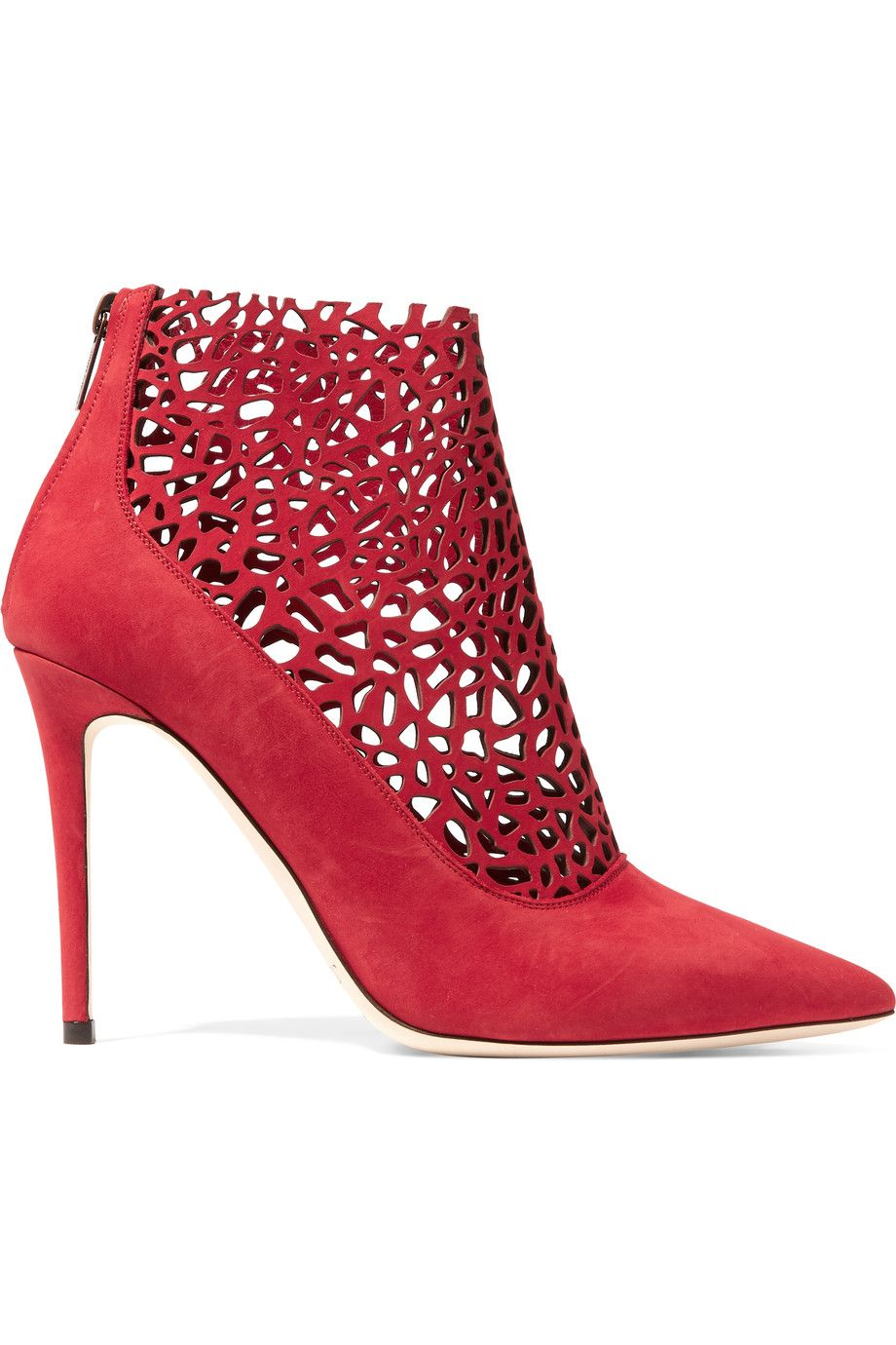 f1663dc8d1f6 Shop on-sale Jimmy Choo Maurice laser-cut suede boots. Browse other  discount designer Boots   more on The Most Fashionable Fashion Outlet