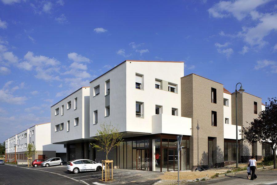 rue royale architectes double jeu a dense individual housing pinterest. Black Bedroom Furniture Sets. Home Design Ideas