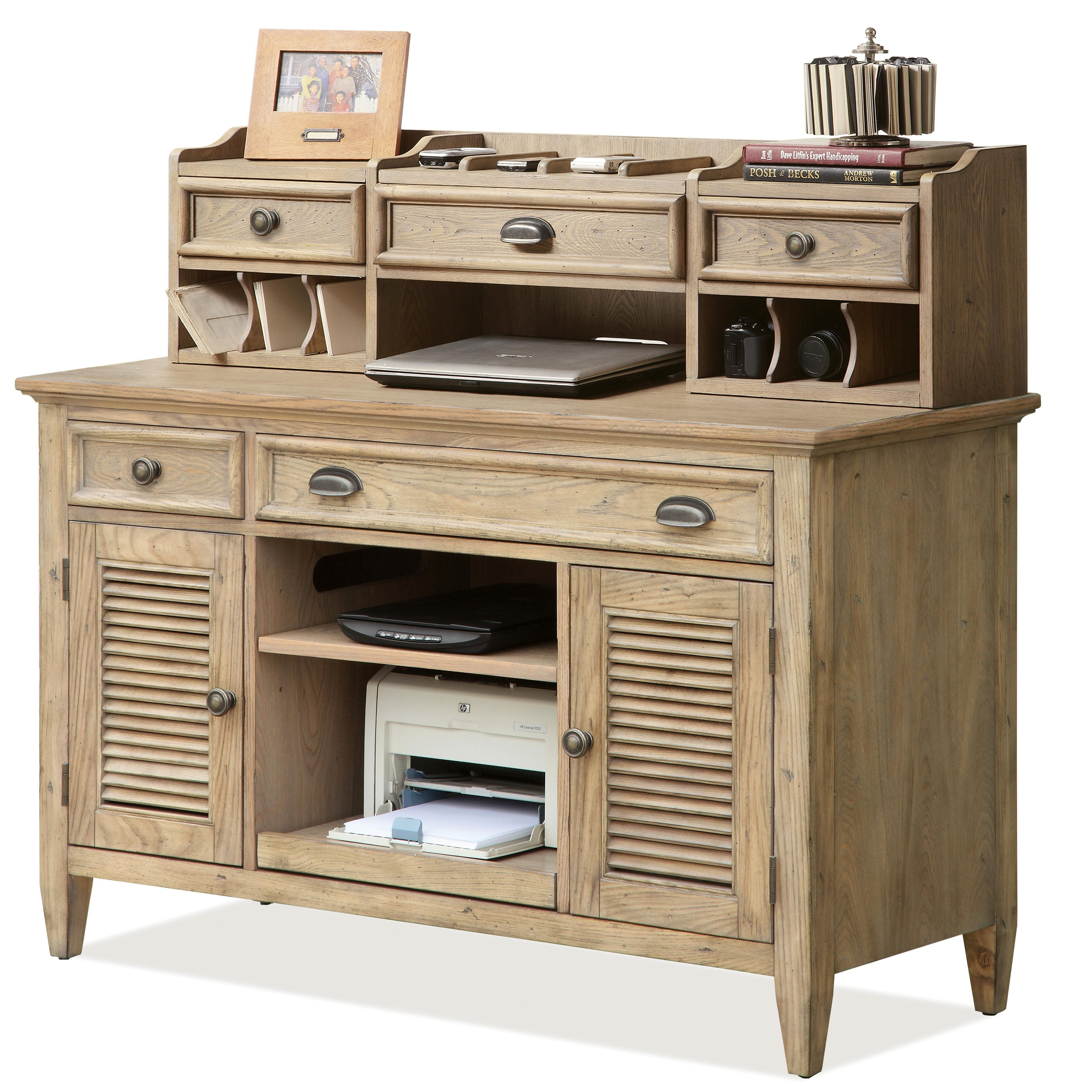 Beautiful Wooden Corner Desk With Hutch Designs Coventry Writing Credenza By Riverside