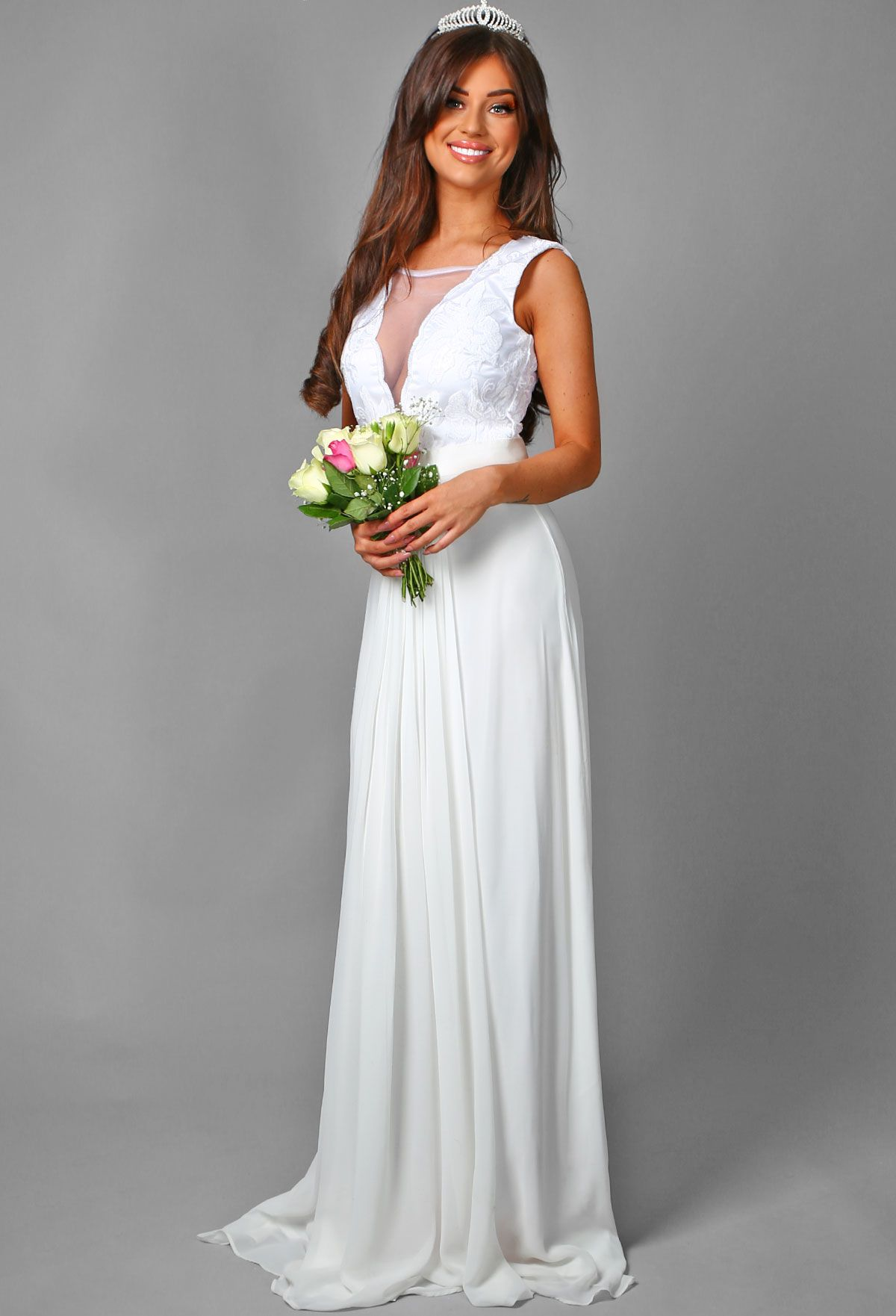So glam! Our Annabelle Bridal dress is perfect for girls who want ...