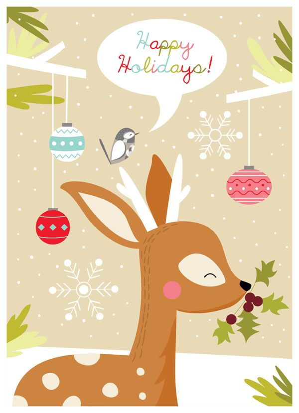 Christmas Illustration Pinterest.Pin By Tanywd On W I N T E R Woodland Christmas