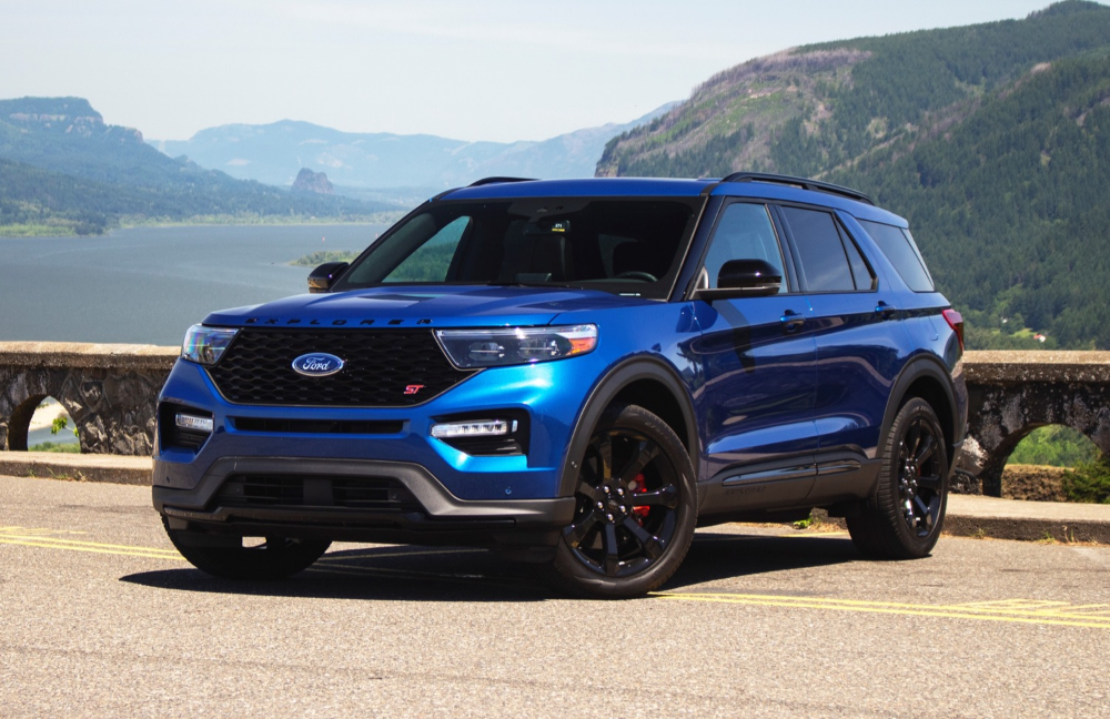 2020 Ford Explorer St Represents One In Five Explorers Sold In 2020 Ford Explorer 2020 Ford Explorer Ford Suv