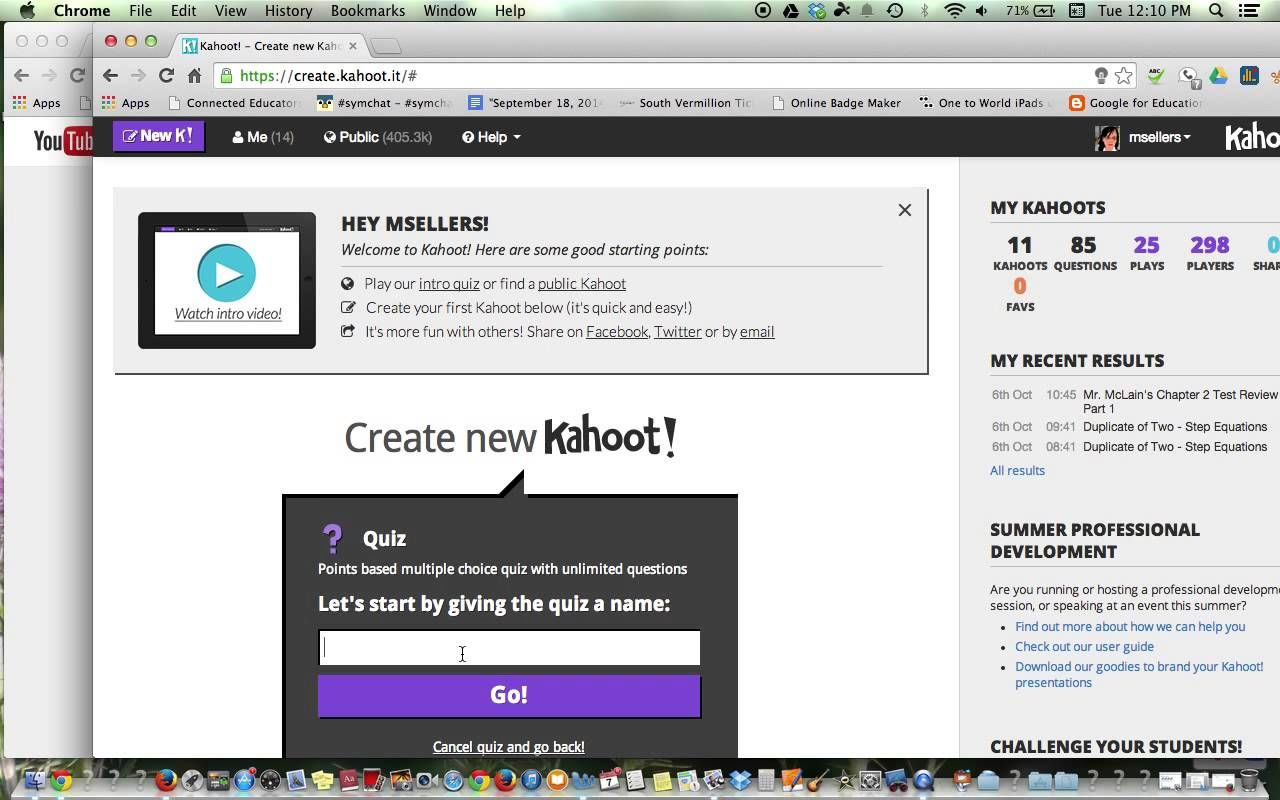 Screen Shot A Worksheet For Kahoot