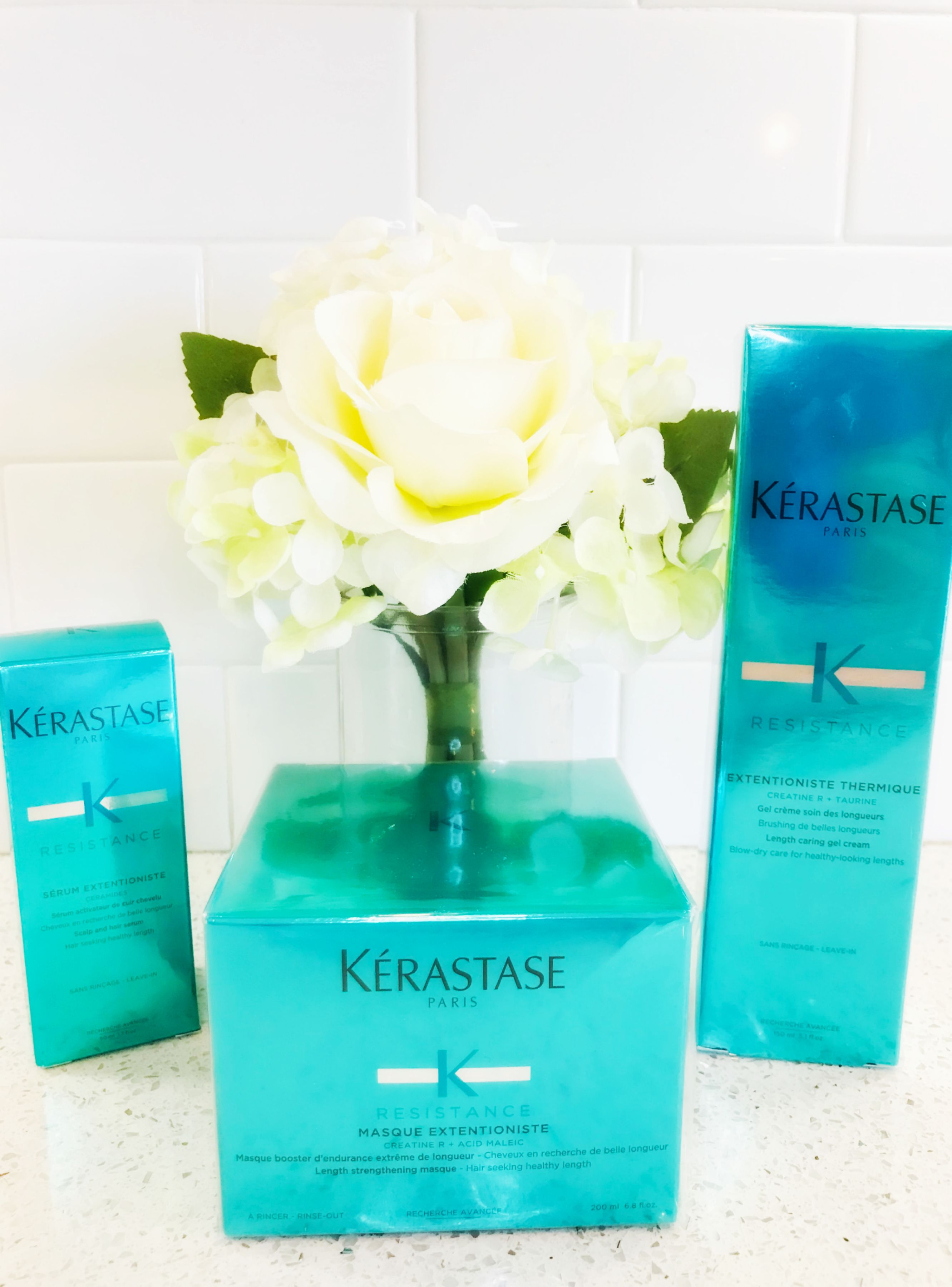 My Hair is Loving the Kérastase RESISTANCE Line! Healthy
