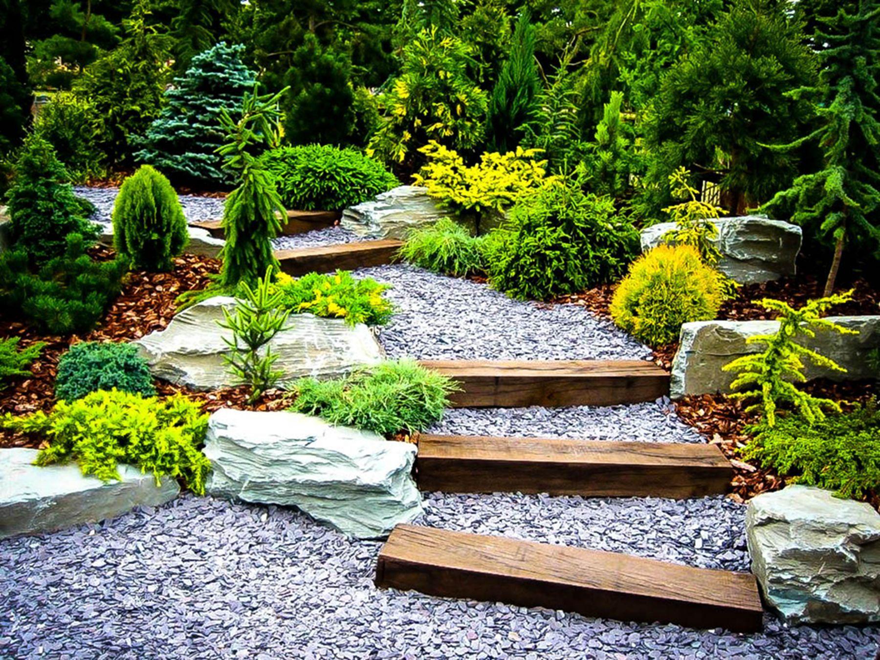 12 Stone Garden Design Ideas For Backyard So Your Home Is More