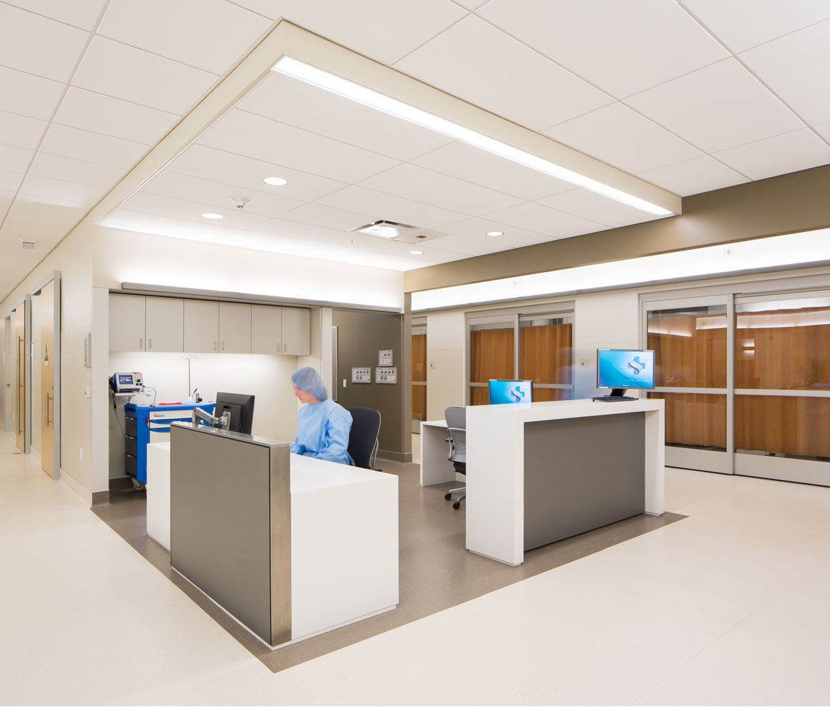 NBBJ Had Multiple Meetings With Medical Staff To Review Standards Accessibility And Ergonomics