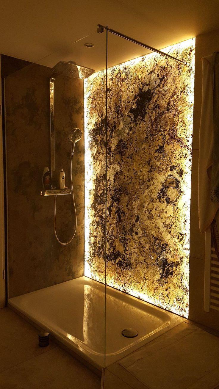 Photo of Dünnschiefer Transluzent.Badezimmerdesign –  – #Genel #bathroomrenoideas