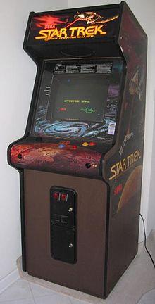 Star Trek Arcade Game Wikipedia Arcade Arcade Games Star Trek